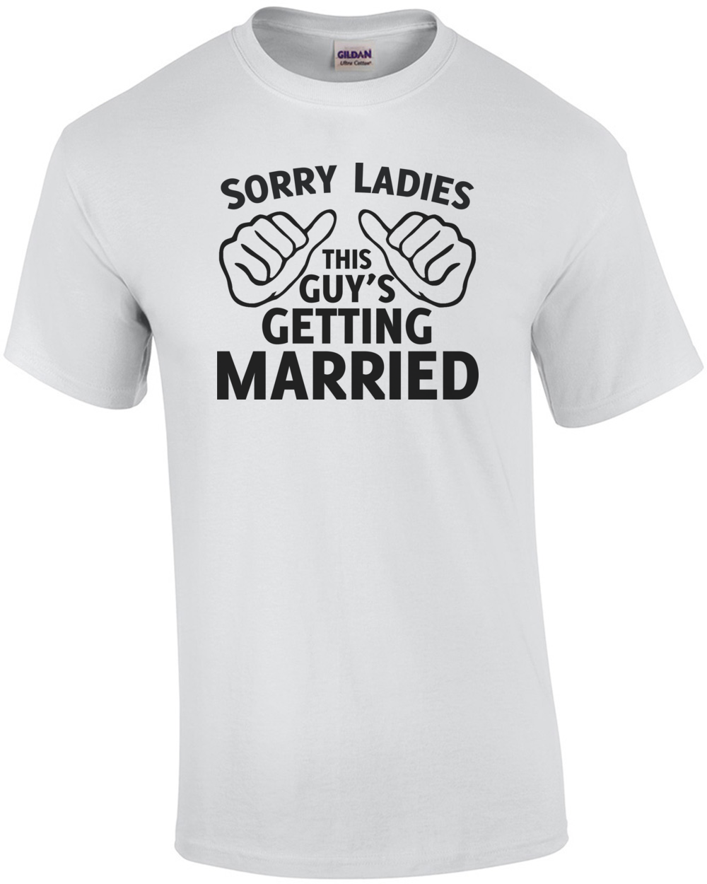 95f6956bd This t-shirt is the perfect choice for the guy who's so excited about  getting married that he wants to shout it out to the world. And for his  happy bachelor ...
