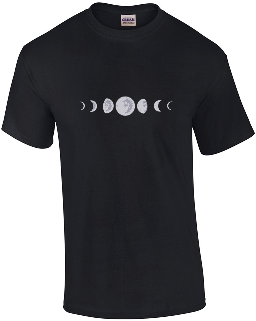 stages of moon t shirt