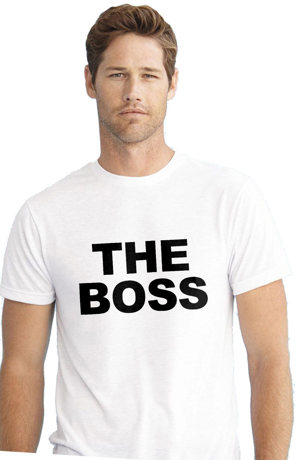 539d0cd52c The Boss - Funny couple's t-shirt