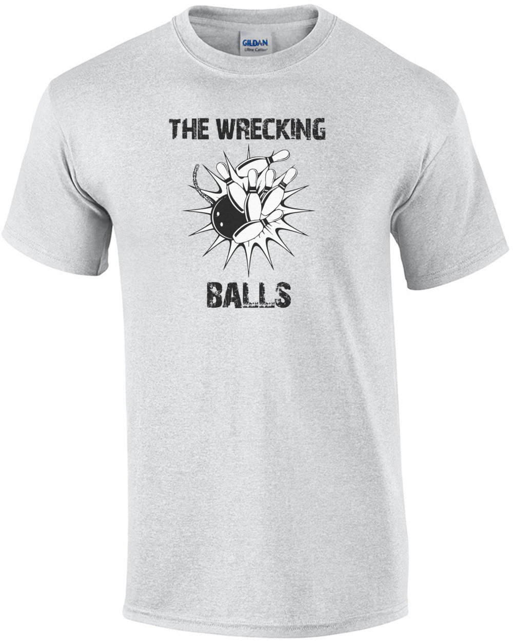 5aa0c3ca5b The Wrecking Balls - Funny Bowling League T-Shirt shirt