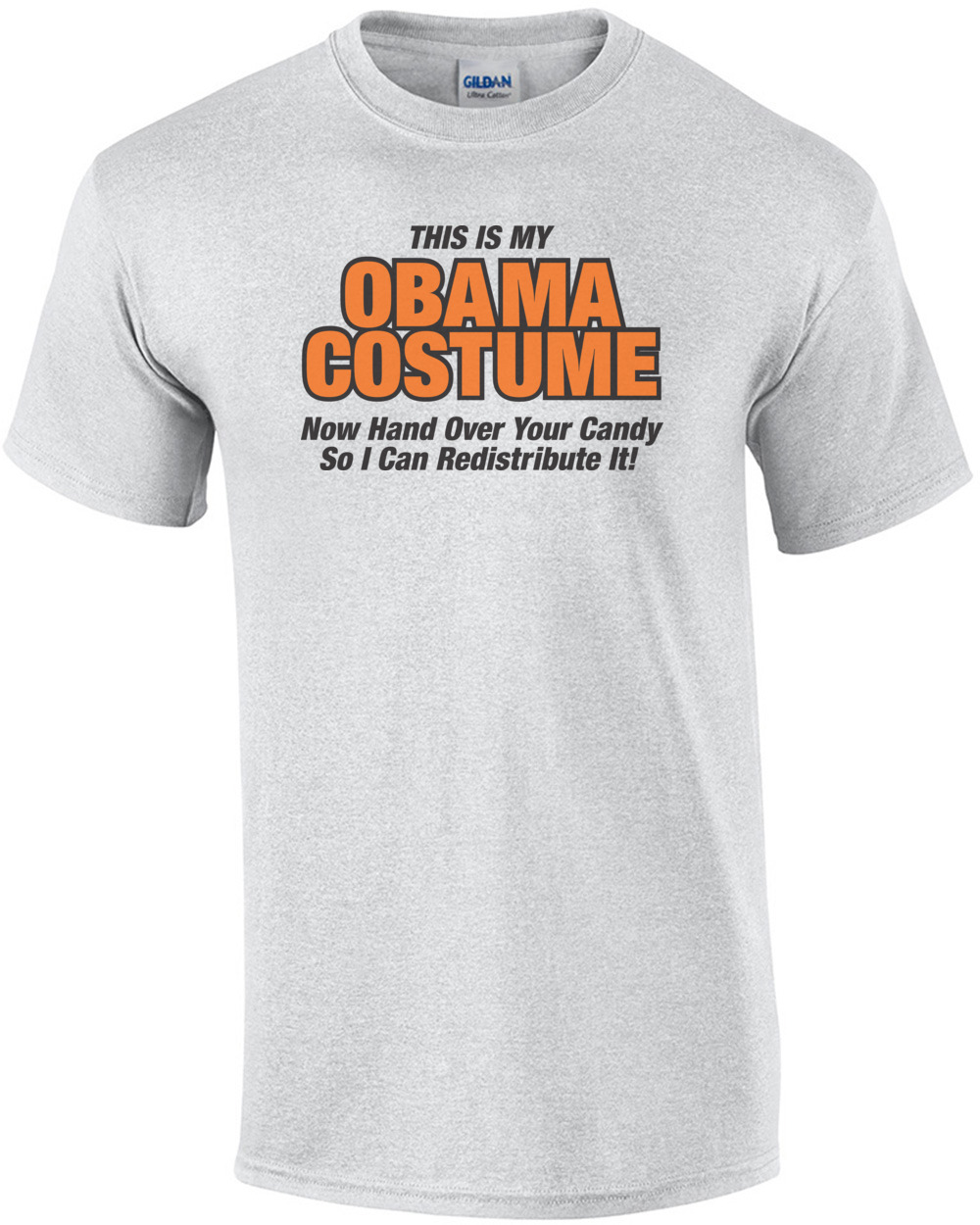this is my obama costume anti obama halloween t-shirt
