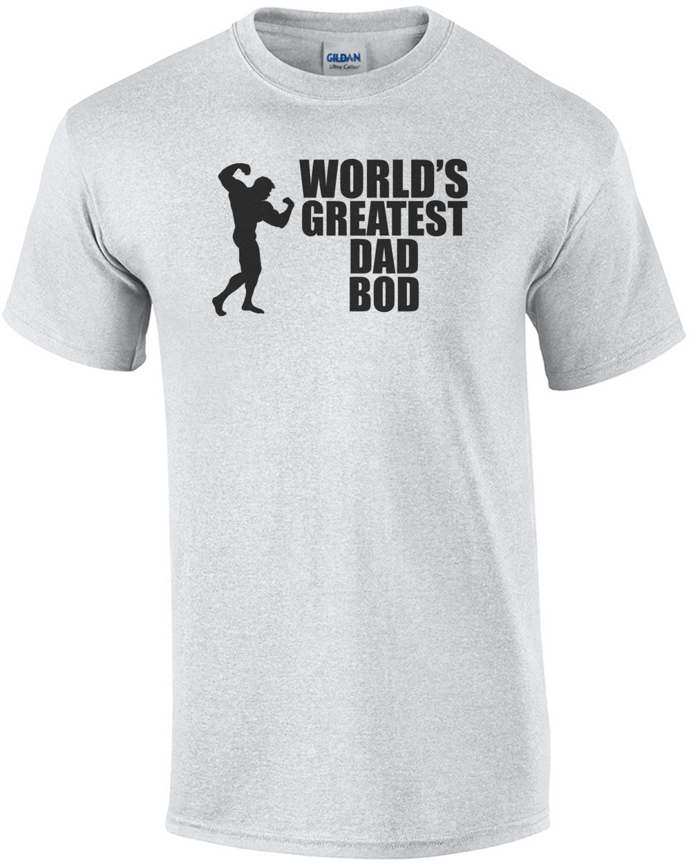 93a96c98 World's Greatest Dad Bod T-Shirt