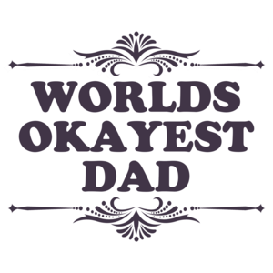 World's Okayest Dad Funny T-shirt